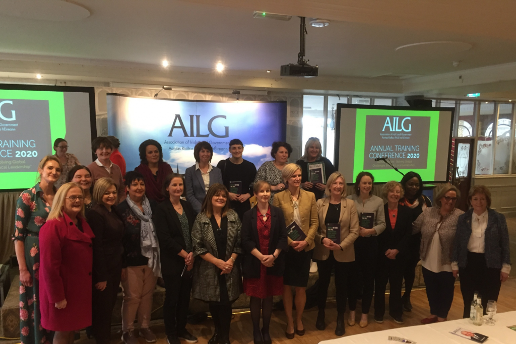5TH MARCH 2020, LONGFORD ARMS HOTEL, CO. LONGFORD  Councillors and Delegates in attendance for the Women's Local Government Network Meeting at AILG Annual Conference 2020