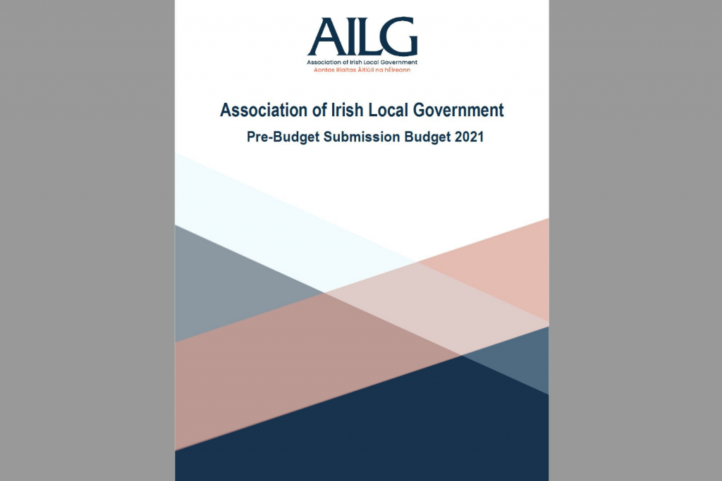 AILG Pre-Budget Submission Budget 2021 AILG's Pre-Budget Submission for Budget 2021 which was issued to all relevant government Ministers, Party Leaders, Opposition Spokespersons, members of the Oireachtas in early October.